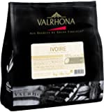 Valrhona White Baking Chocolate Chips 35%  (Ivory) 1 kg