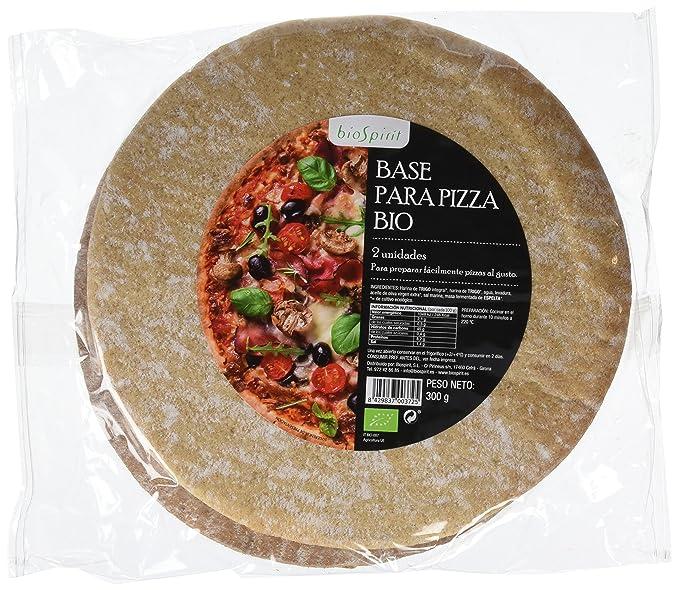 Biospirit Base Integral para Pizza de Cultivo Ecológico - 2 unidades