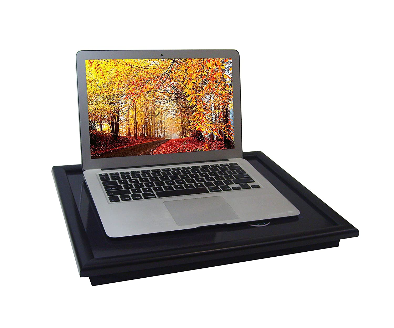North Globe Lap Desk - Travel Padded Cushion Plus Wrist Rest and Extra Large Lap Tray - Light Weight and Portable Lap Tray - Essential Desk Organizer for Kids, Adults, Students and Office Spaces North Globe Sales