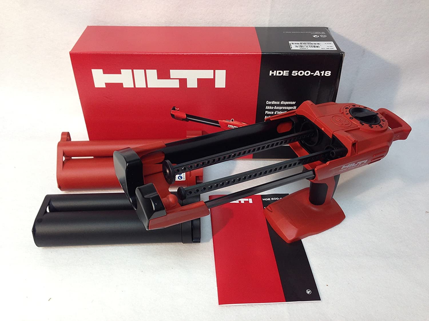 ALMOST OUT OF STOCK Tool only NEW HILTI HDE500-A18  Auto Epoxy Gun