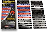 """""""Magnetic"""" Tool Box - Tool Chest Organizer Labels"""