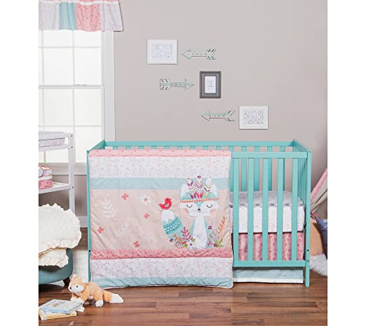 Amazon.com: Trend Lab Wild Forever 7-Piece Complete Crib Bedding Set: Home & Kitchen