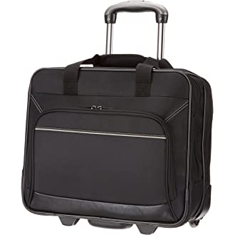 #13 AmazonBasics Rolling Laptop Case