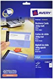 Avery C32015-10 Printable Double-Sided Business Cards, 8 Cards Per A4 Sheet