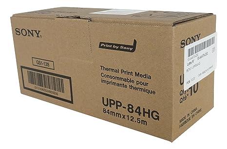 SONY UPP84HG Rollos de papel térmico de alto brillo para ...