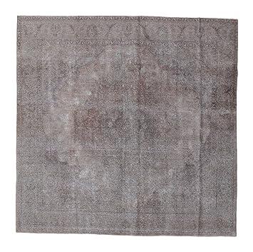 Teppich quadratisch  Colored Vintage Teppich 290x290 Moderner, Quadratisch Teppich ...