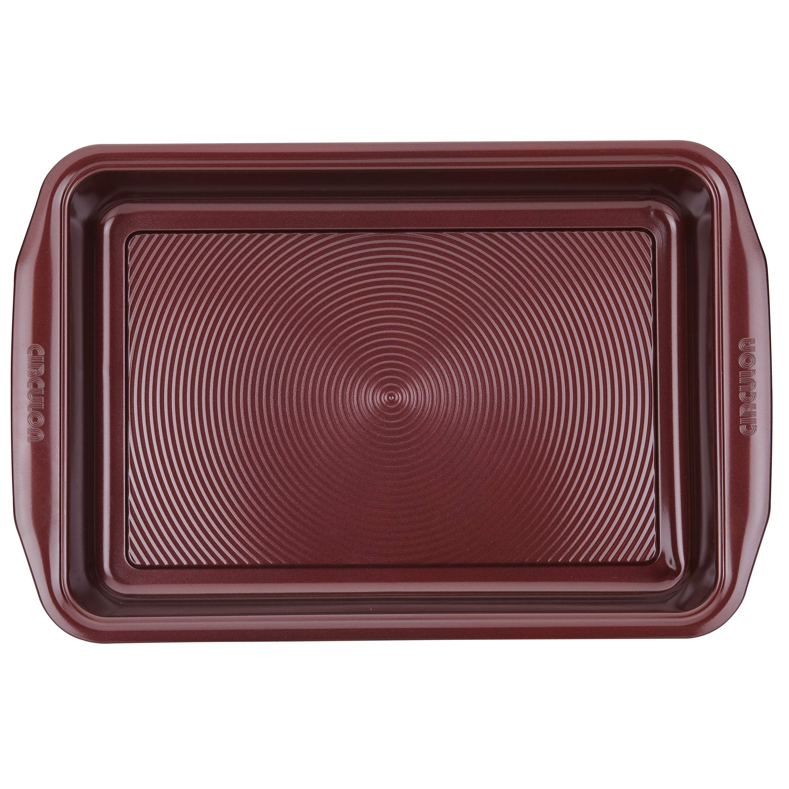 Circulon 47740 10-Piece Steel Bakeware Set, Merlot by Circulon (Image #8)