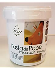 PASTA DE PAPEL PREPARADA (papel maché) CHOPO 1kg