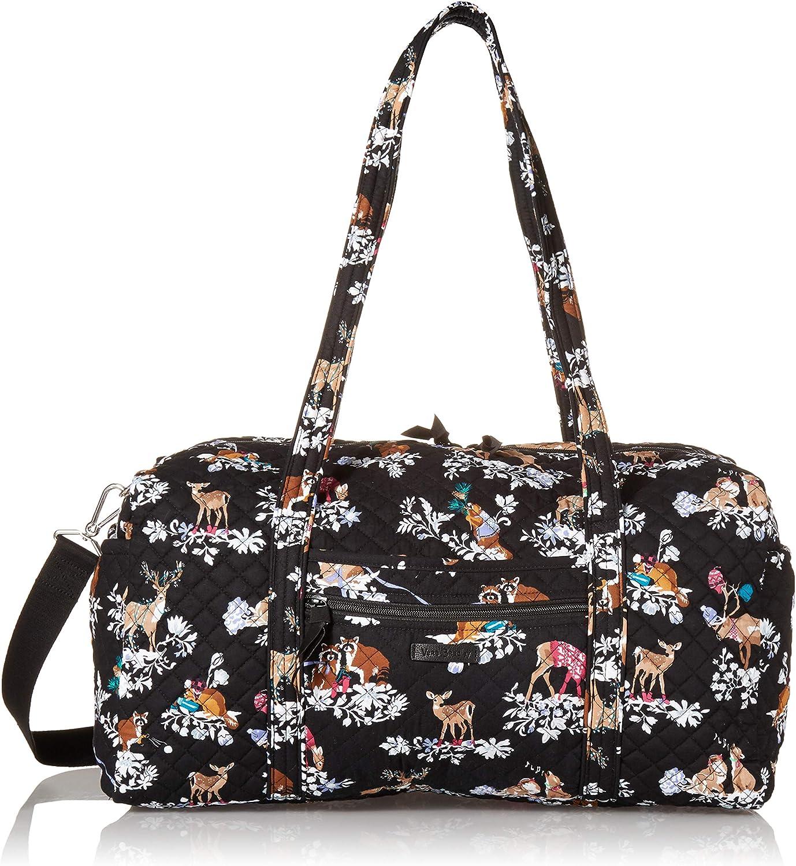 Vera Bradley Women's Signature Cotton Memphis Mall Medium Duffel Max 83% OFF Bag Travel