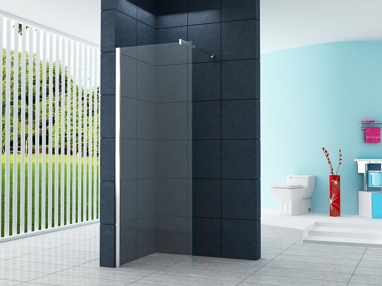 10 mm duschabtrennung dsseldorf 60 x 200 cm walk in duschtrennwand duschwand amazonde baumarkt - Dusche Nischentur 60