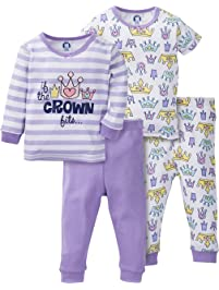72b0e72dd1 Gerber Girls  4-Piece Pajama Set