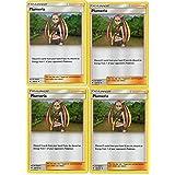x4 Lillie 122//149 Uncommon Pokemon SM1 Sun /& Moon Base M//NM English