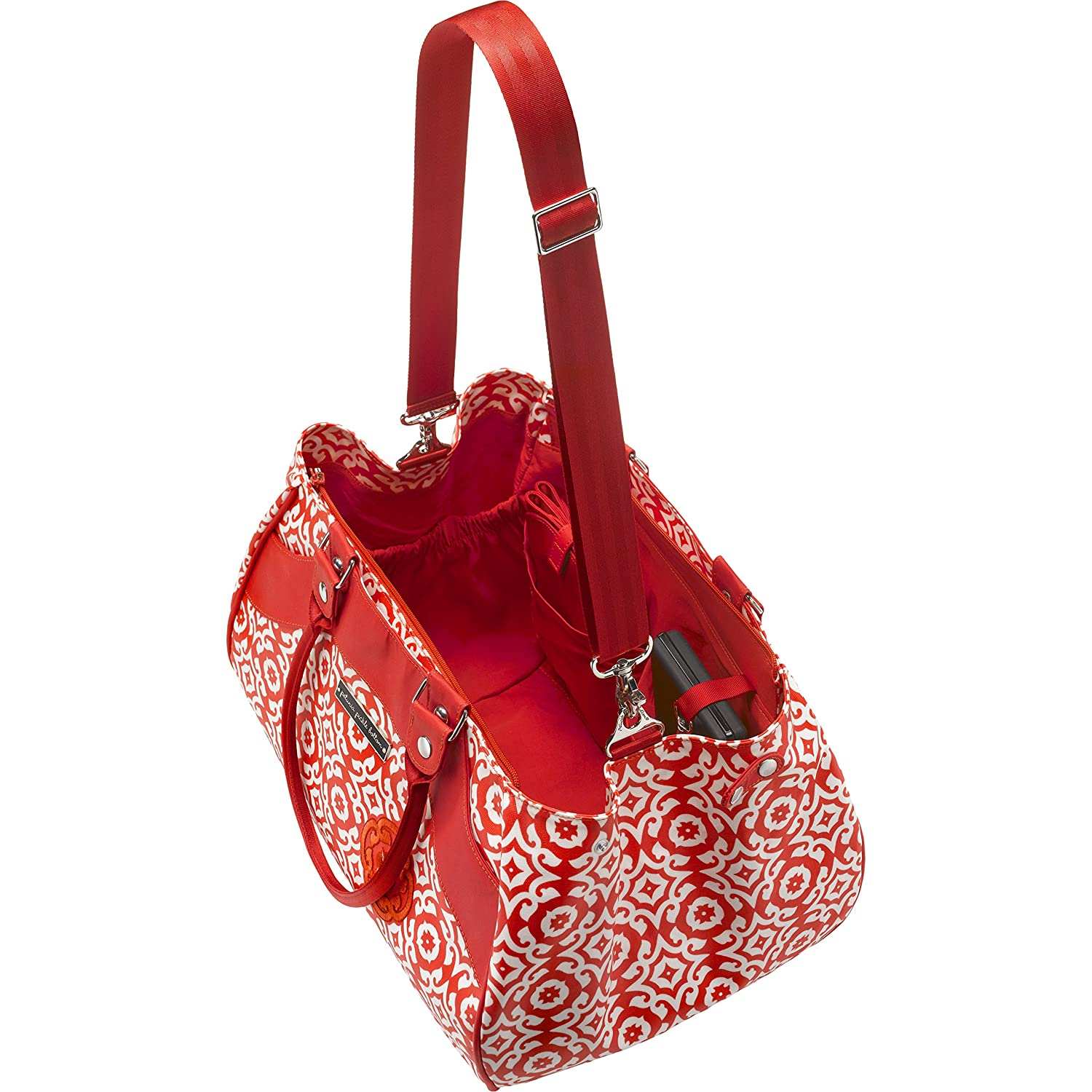 Amazon.com : Petunia Pickle Bottom Wistful Weekender Diaper Bag in Relaxing in Rimini : Baby