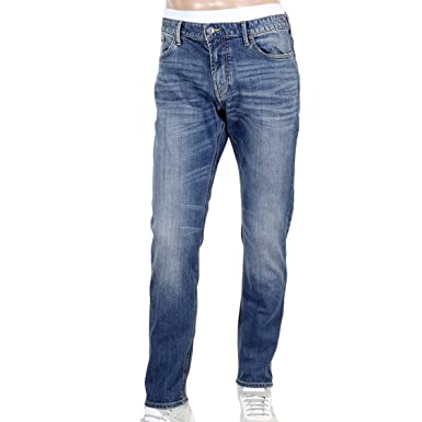 be0d2ba2f96 Armani Mens Jeans J06 Slim Fit AJM3063: Amazon.co.uk: Clothing