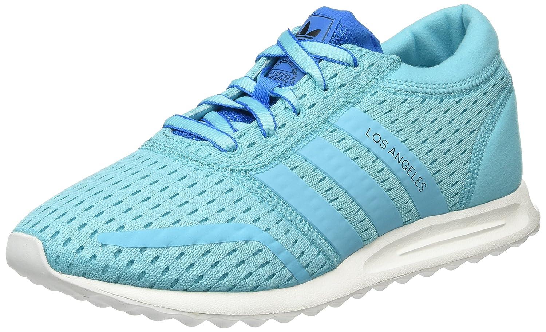 adidas Damen Los Angeles Sneakers  41 1/3 EU|Blau (Blue Glow/Blue Glow/Shock Blue)