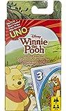 Mattel Spiele 54480 - UNO Junior Winnie Puuh Kartenspiel, für Kinder ab 3 Jahren