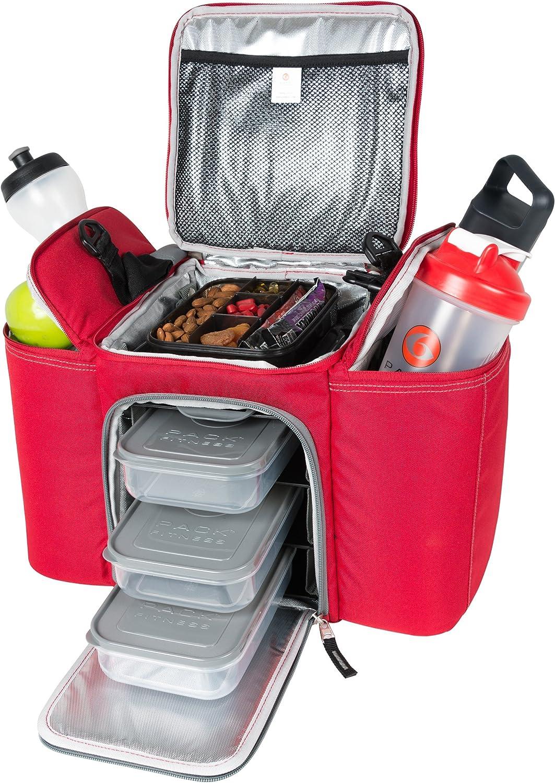 6Pack Fitness - Innovator 500 - Nueva Six Pack - Roja Gris: Amazon ...