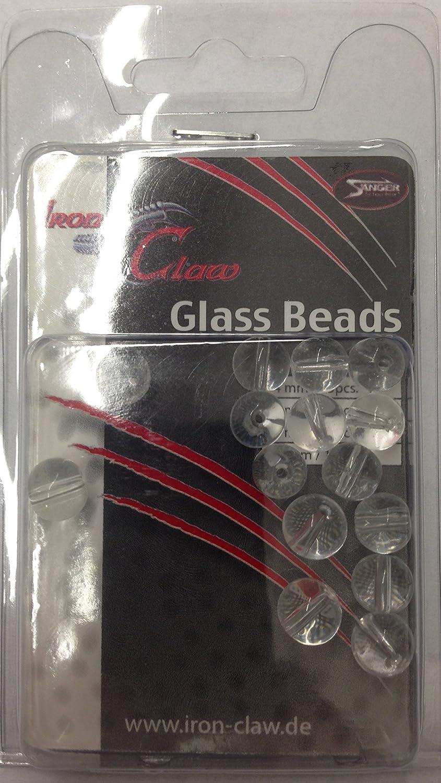 Glasperlen Glass Beads  DS-Angelei Iron Claw     Transparent