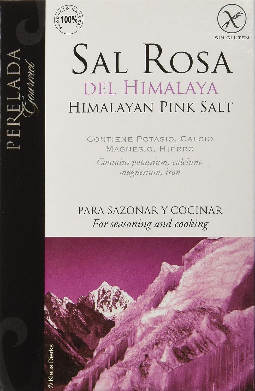 Perelada Sal Rosa del Himalaya - 250 gr: Amazon.es: Alimentación y bebidas