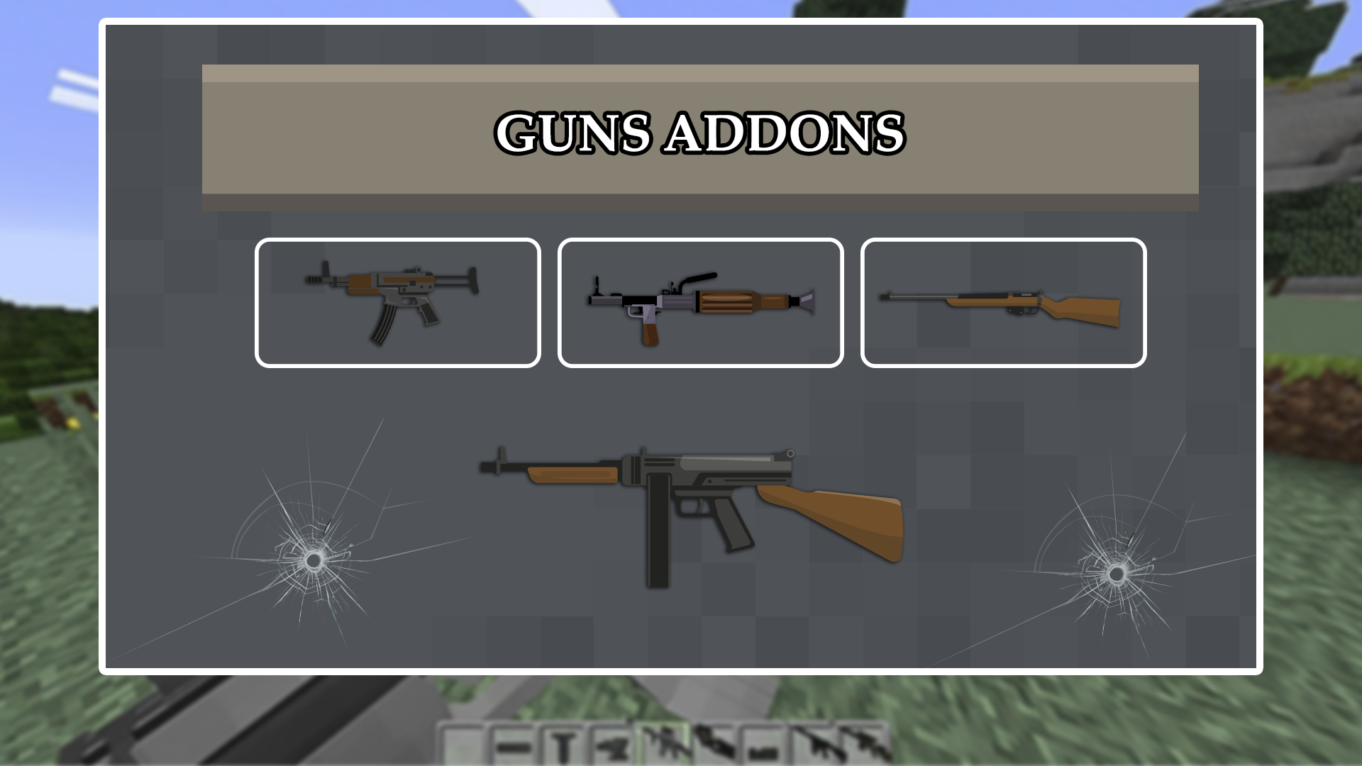 Amazon com: Actual Guns Addon For Minecraft PE: Appstore for Android