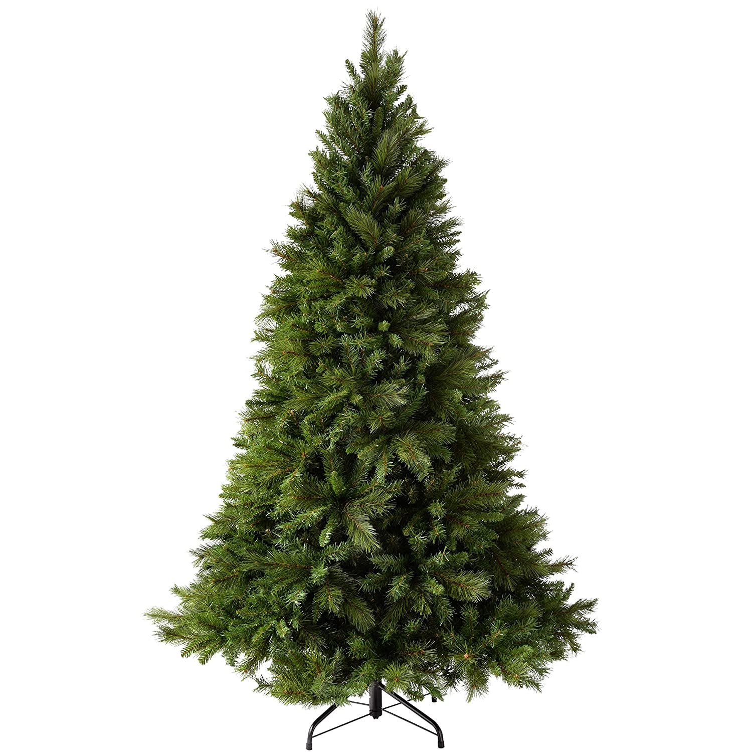 Werchristmas Victorian Pine Christmas Tree With Easy Build Hinged Branches,