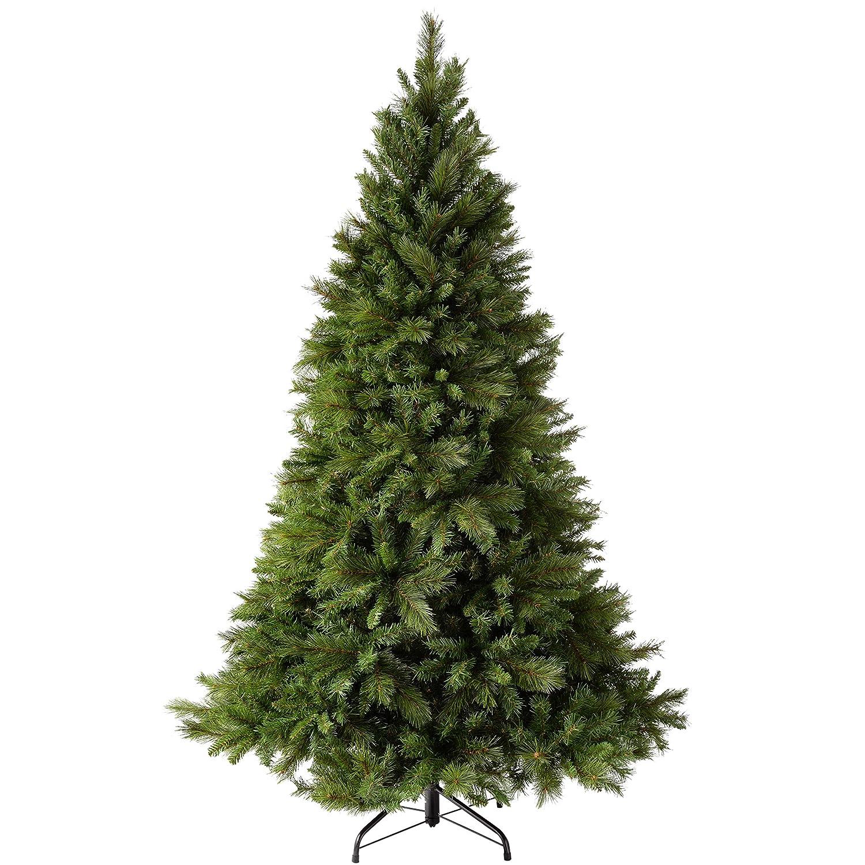 WeRChristmas - Albero da Natale alto 1.5 m, con rami pieghevoli, verde, 1,8 m (6 piedi) WRC-0218