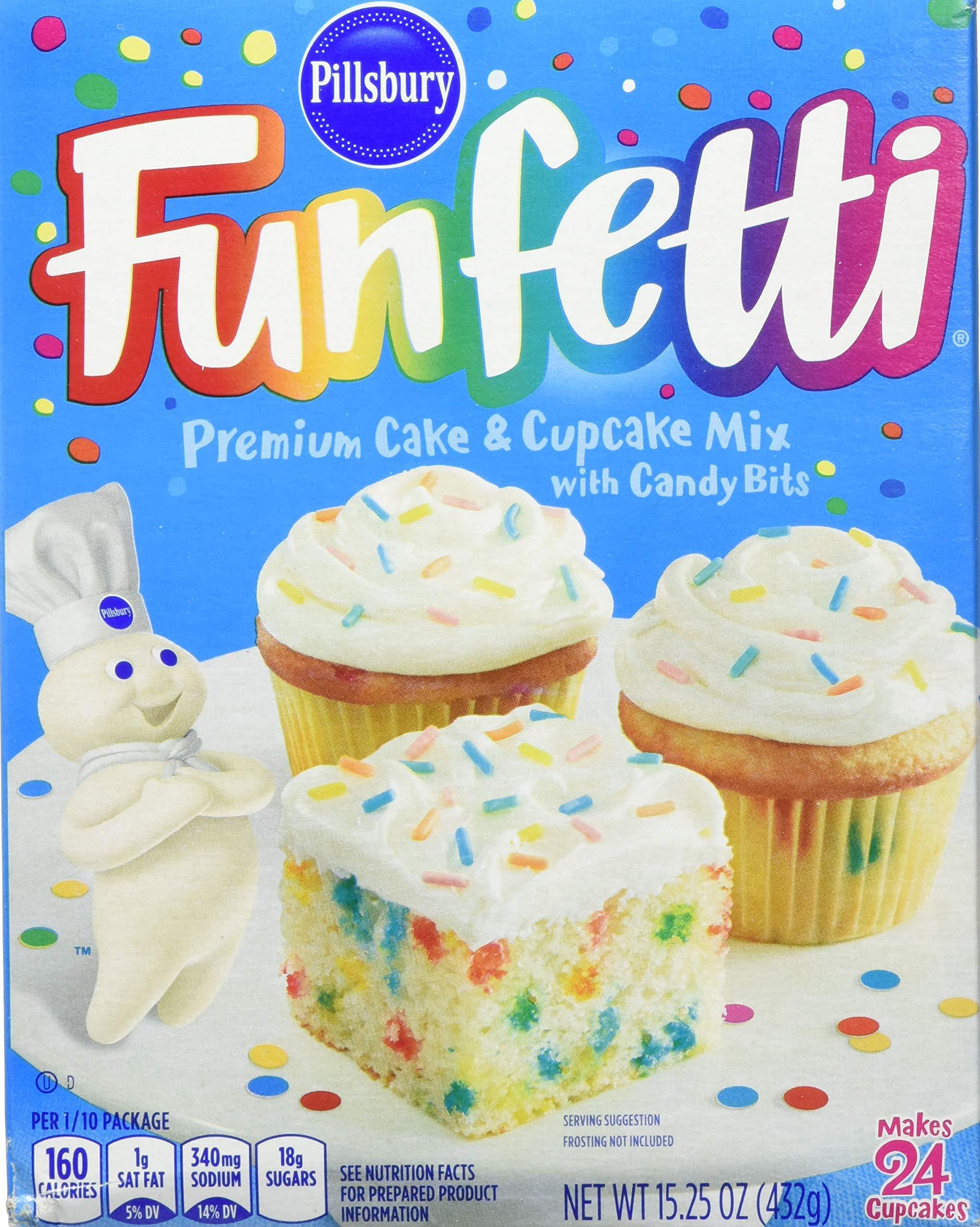 Pillsbury Funfetti Cake Mix, 15.25 oz