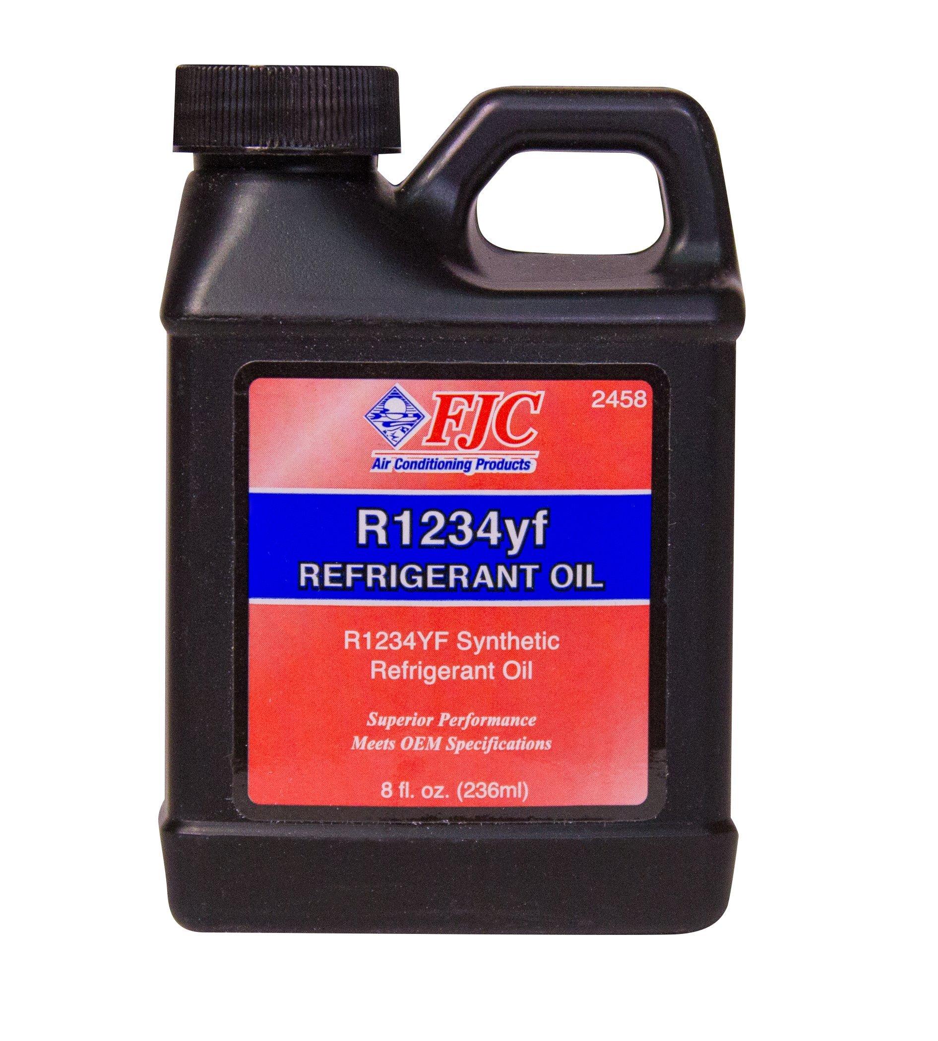 FJC 2458 R1234YF Refrigerant Oil, 8 fl. oz, 1 Pack by FJC