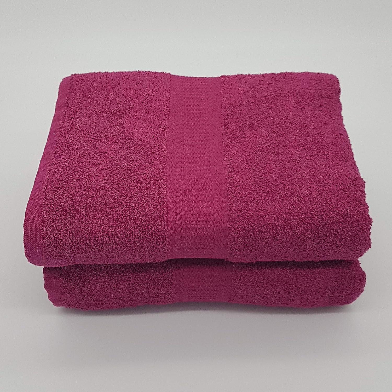100/% cotone molto resistente morbido composto da: 2 asciugamani da bagno Jumbo 180 x 90 cm Set di 2 teli da bagno extra large di qualit/à Kingsley Home Aqua Lagoon