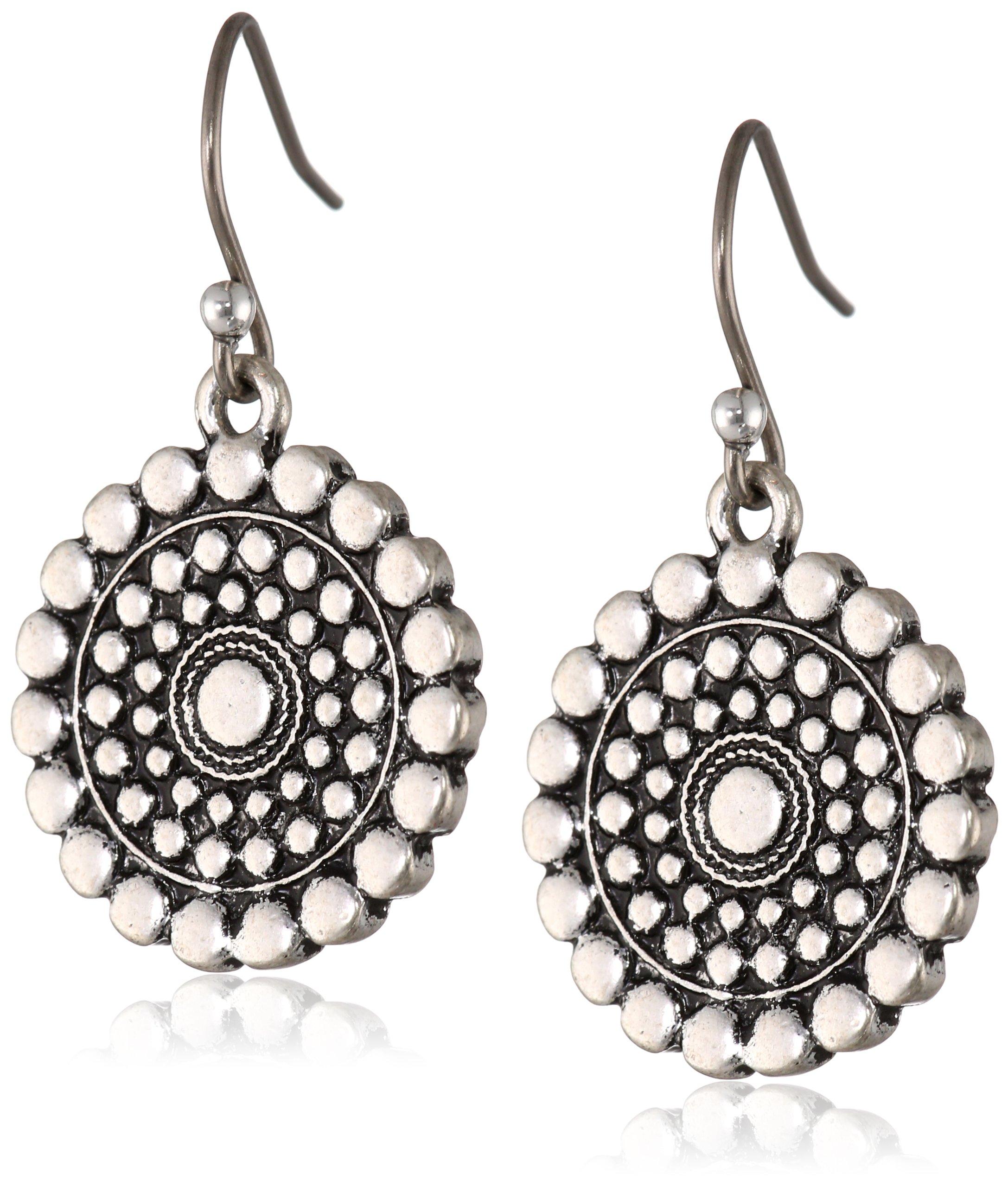 Lucky Brand''Blue Moon'' Tribal Drop Earrings