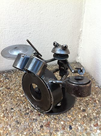 Amazon.com: HandmadeGiftCo Drum Kit – Robot Drummer Smash ...