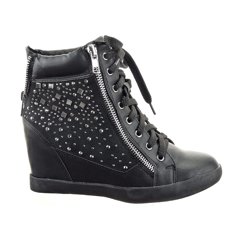 chaussure femme basket talon compense. Black Bedroom Furniture Sets. Home Design Ideas