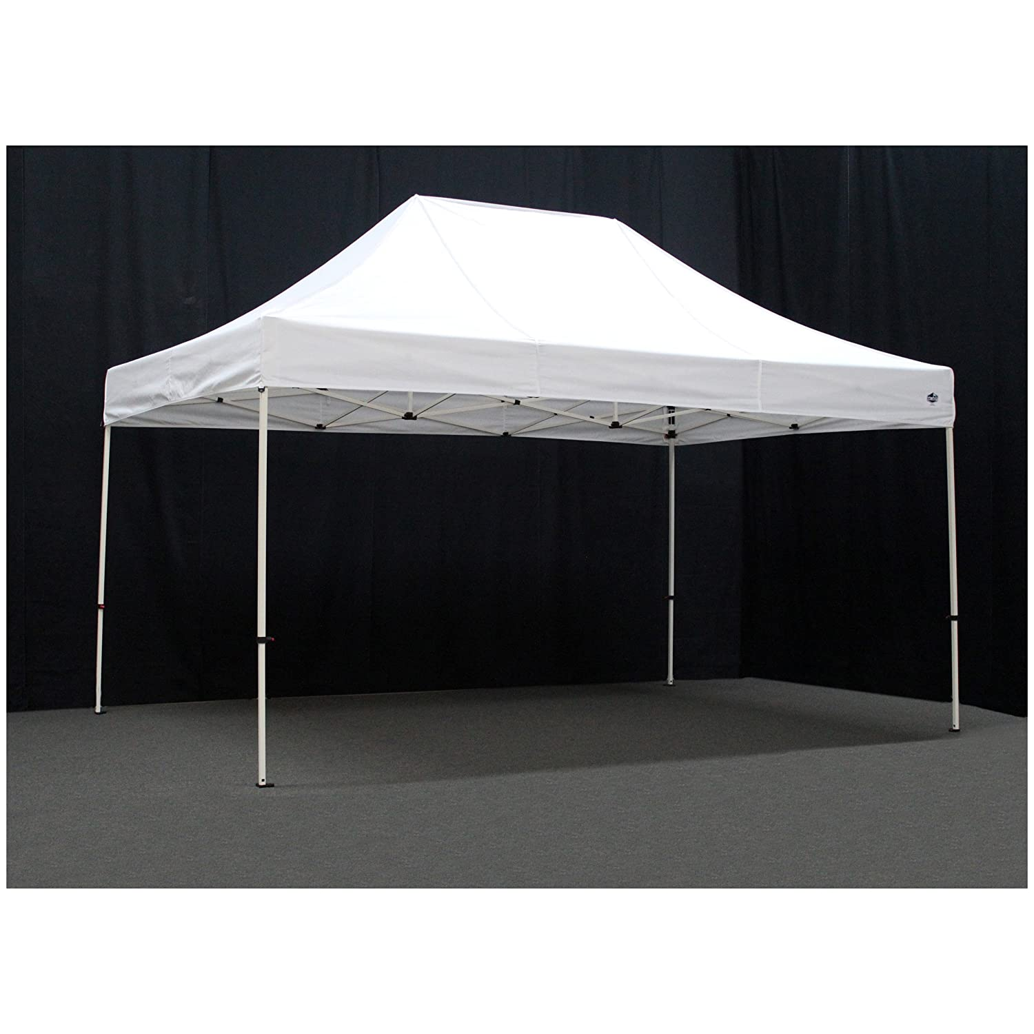 Amazon.com  King Canopy FSSHST15WH 10-Feet by 15-Feet Festival Steel Instant Canopy White  Sports Fan Canopies  Garden u0026 Outdoor  sc 1 st  Amazon.com & Amazon.com : King Canopy FSSHST15WH 10-Feet by 15-Feet Festival ...
