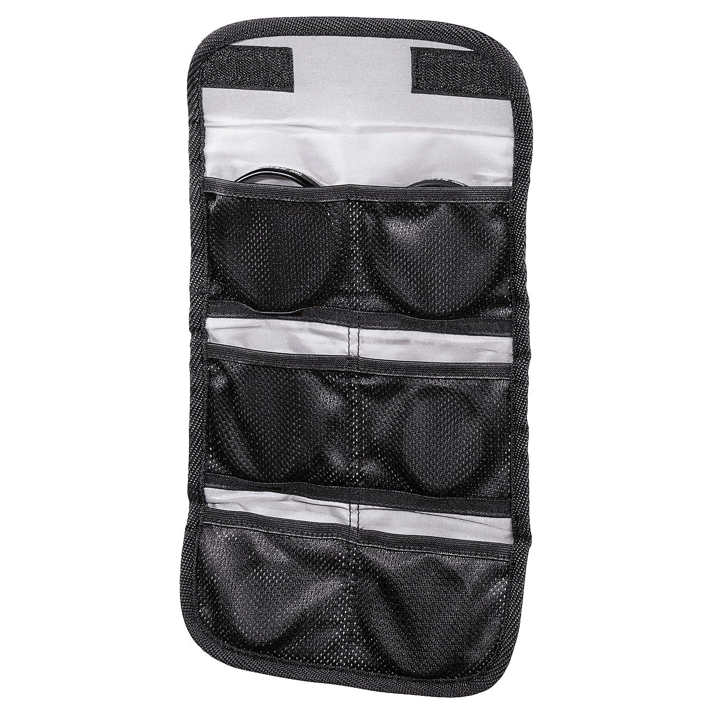 Black Rexton Camera Filter Case Hama