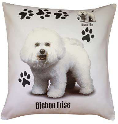 Perfect Gift Maltese Group Breed of Dog Themed Cotton Cushion Cover