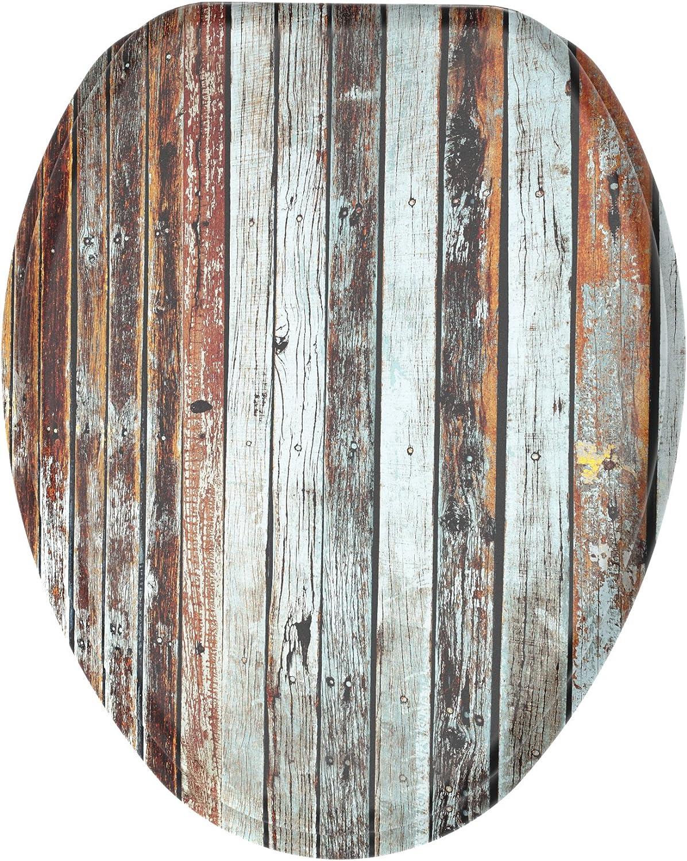 Wood Design Elongated Toilet Seat