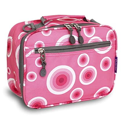 Amazon com: J World New York Cody Lunch Bag, Pink Target