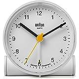 Braun BNC001WH Réveil classique avec fonction d'alarme crescendo, blanc