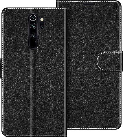 COODIO Funda Xiaomi Redmi Note 8 Pro con Tapa, Funda Movil Xiaomi Redmi Note 8 Pro, Funda Libro Xiaomi Redmi Note 8 Pro Carcasa Magnético Funda para Xiaomi Redmi Note 8 Pro,