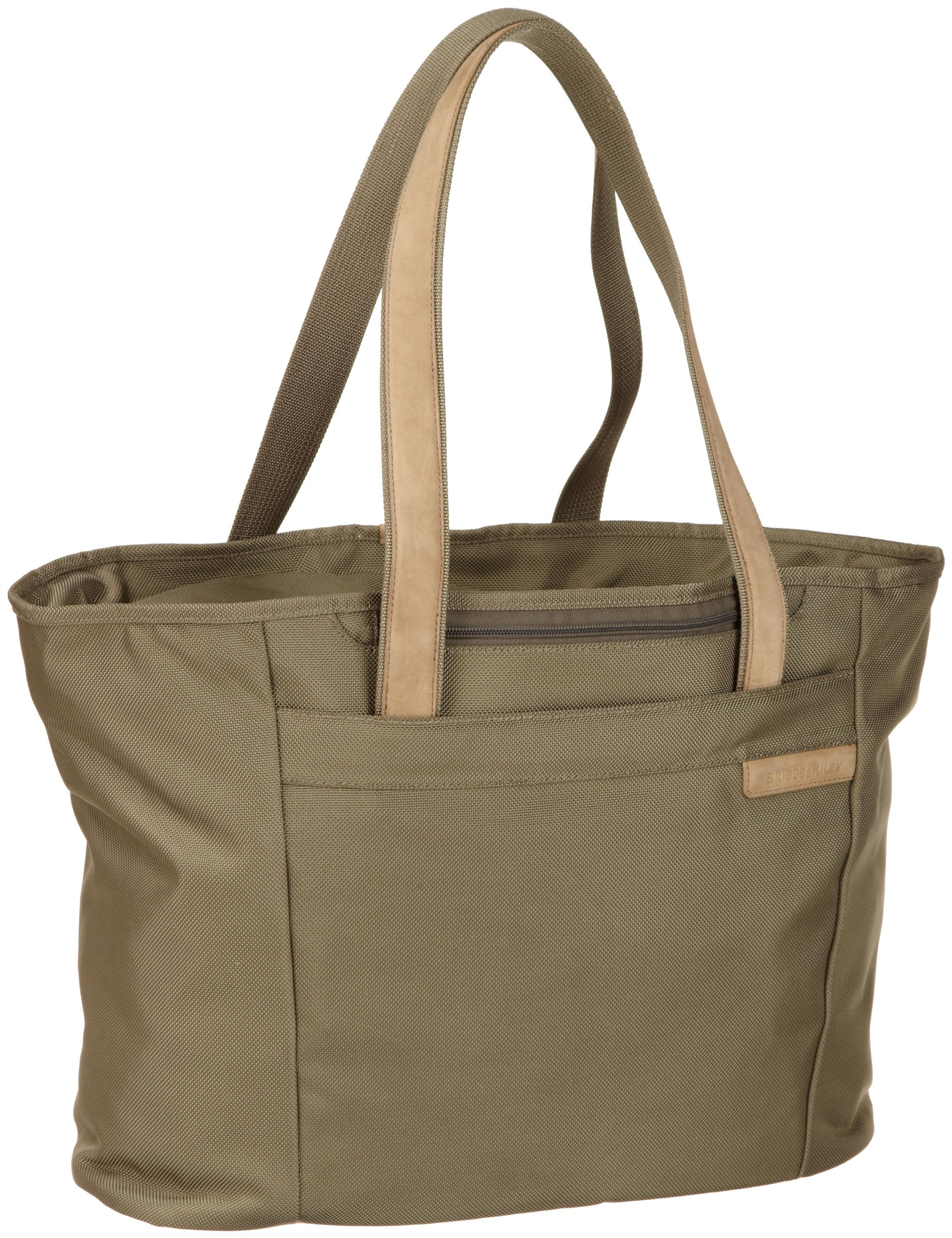 Briggs & Riley Baseline Large Shopping Tote,Olive,13x17x7.3 by Briggs & Riley (Image #2)