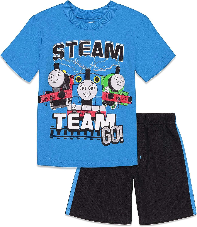 Thomas & Friends Short Sleeve T-Shirt & Mesh Shorts Set