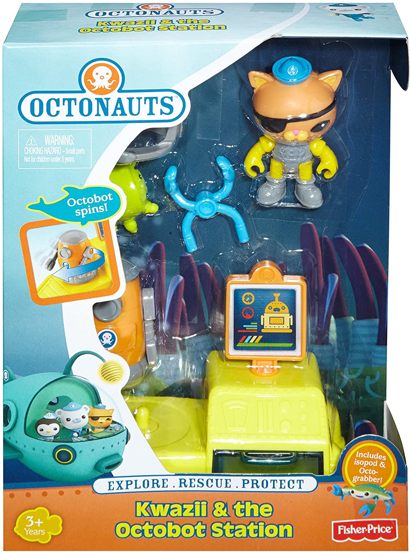 Amazon.com: Fisher-Price Octonauts Kwazii Bot Station: Toys & Games