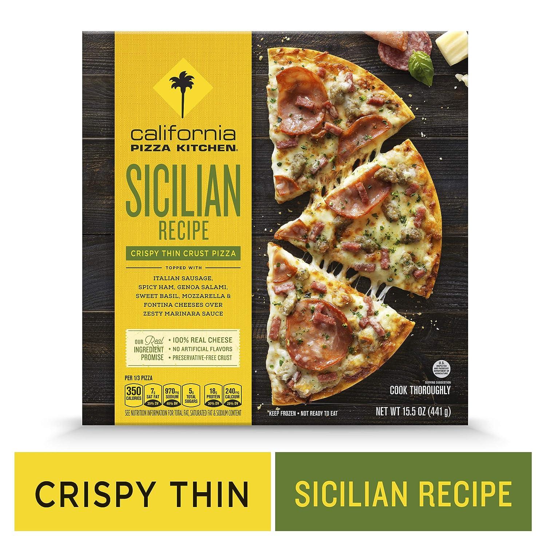 Prime California Pizza Kitchen Crispy Thin Crust Frozen Pizza Sicilian Recipe 15 5 Oz Home Interior And Landscaping Ologienasavecom