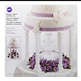 Wilton Roman Column Tiered Wedding Cake Stand, a
