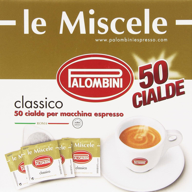 palombini - cialda classica per macchina espresso - 50 pezzi ... - Arredo Bagno Palombini