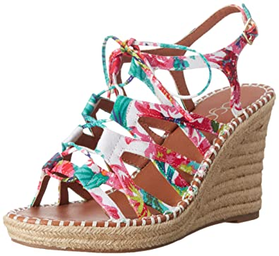 2fc7632710 Amazon.com | Sugar Women's HUNNIES Wedge Sandal | Platforms & Wedges