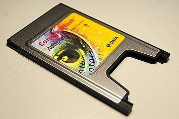 PCMCIA Compact Flash Adaptador Tipo I para Compactflash dispositivos, CF Receptor GPS, tarjetas de