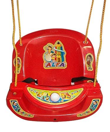 Baby Kids Garden Home Hanging Jhula Play Safe Swing Ride Seat Chair Bucket Outdoor Indoor