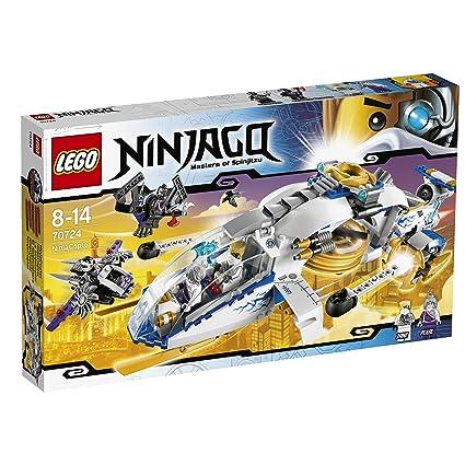 Amazoncom Lego Ninjago Ninjacopter W Minifigures Zane Pixal And