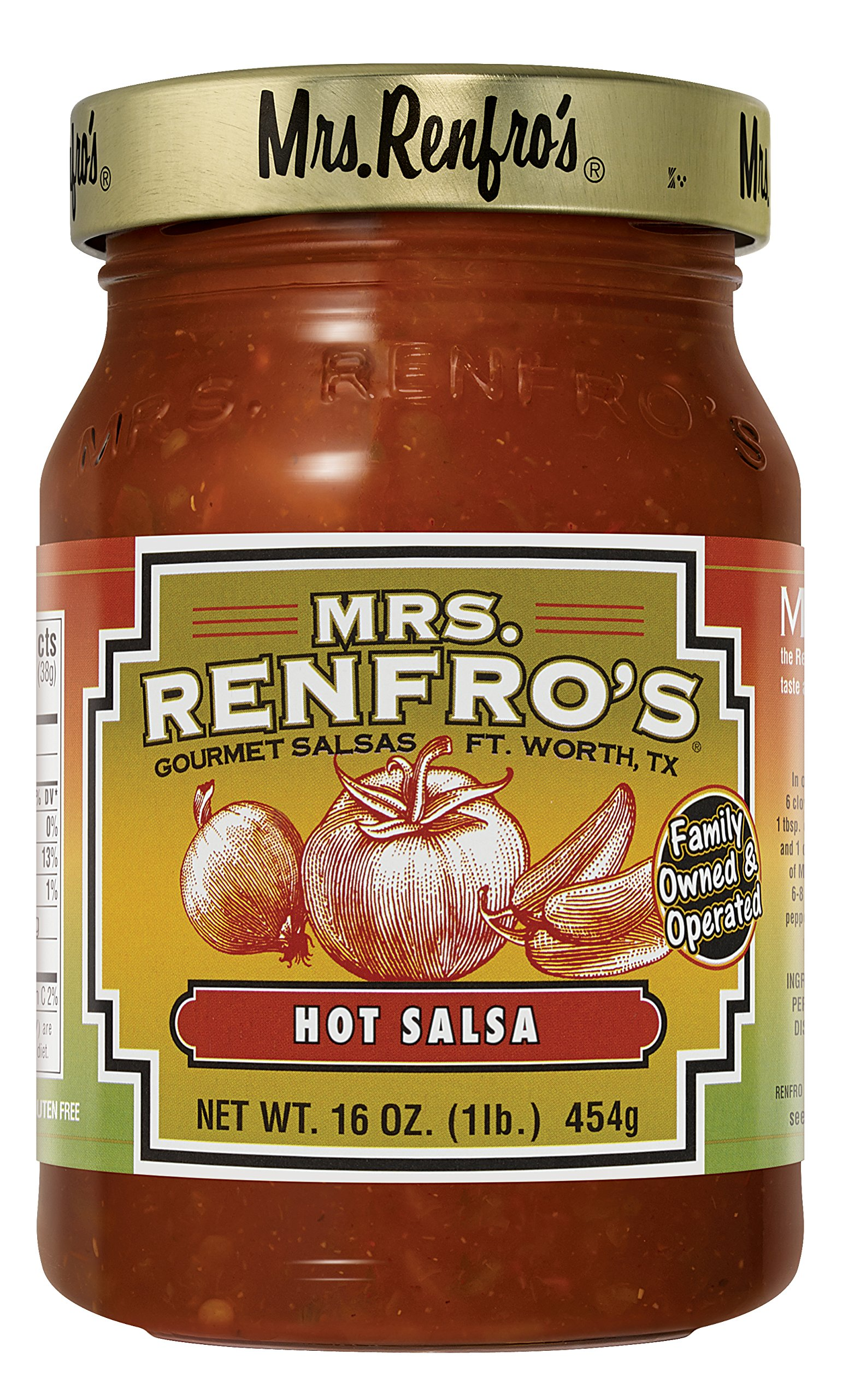 Mrs. Renfros Hot Salsa (2 Pack)